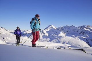Ski touring and cross-country skiing